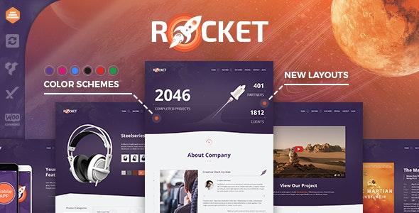 Rocket Creative WordPress Template