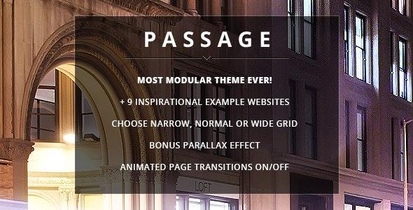 Passage Responsive Wordpress Theme