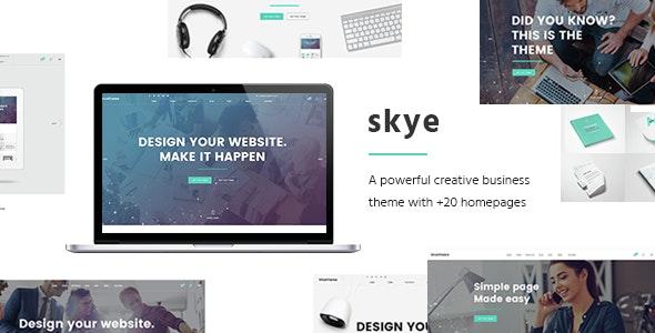 Skye Contemporary Wordpress Theme