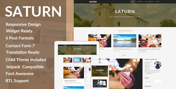 Saturan Travel Wordpress Theme