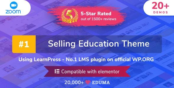 Eduma V.4.0 Education WordPress Theme Free Download