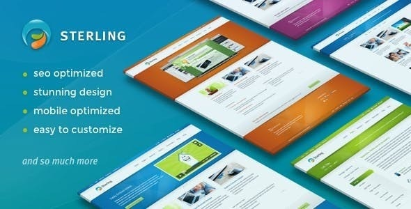 STERLING – RESPONSIVE WORDPRESS THEME 2.7.0 Free Download