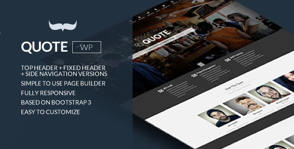 QUOTE – RESPONSIVE MULTI PURPOSE THEME 1.2