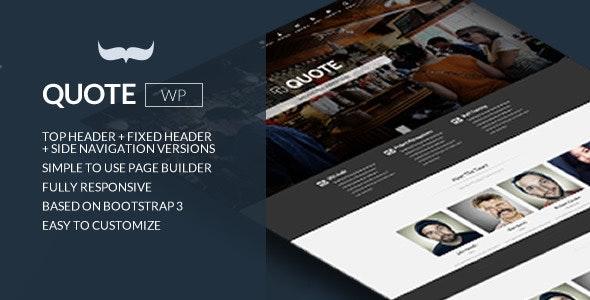 Quote Responsive Multipurpose Wordpress Theme