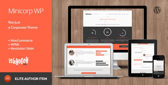MINICORP WP NOT JUST A CORPORATE THEME v 2.4