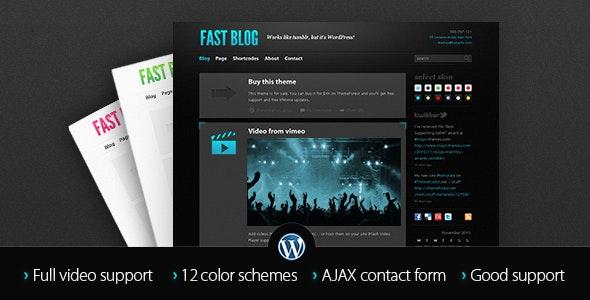 Flashback Portfolio Wordpress Theme