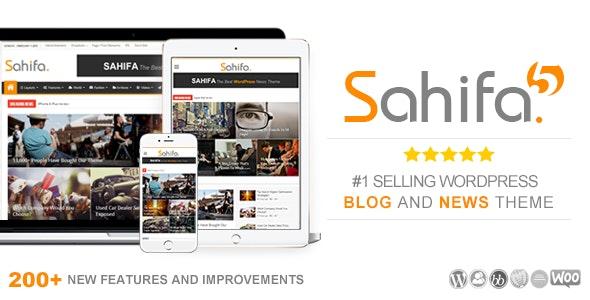 Sahifa News Magazine Newspaper Wrodpress Theme