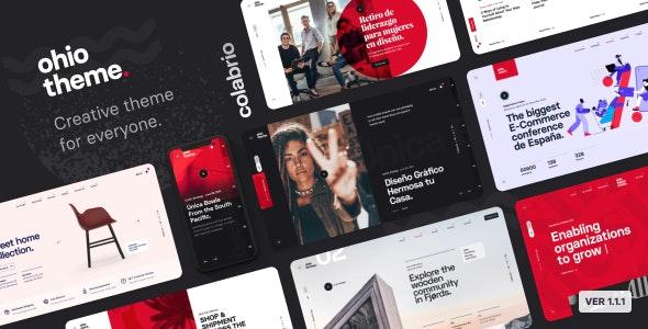 Ohio Portfolio Agency WordPress Theme