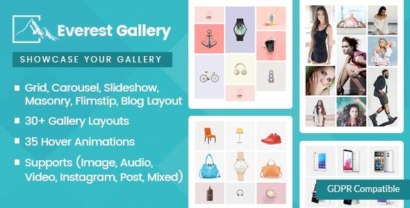 Everest Gallery - Responsive WordPress Gallery Plugin
