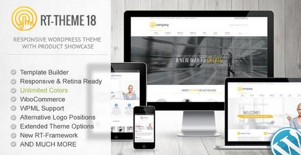 RT-THEME 18 RESPONSIVE WORDPRESS THEME v 2.1
