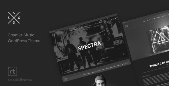 Spectra Music Event Wordpress Theme