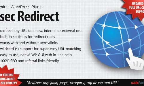 5sec Redirect WordPress Plugin 1.30