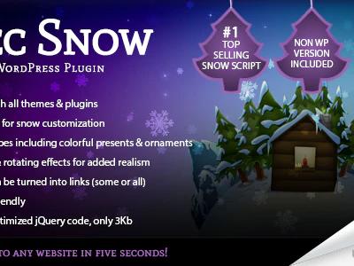 5sec Snow WordPress Plugin 1.65