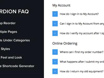Accordion FAQ WordPress Plugin 2.2.0