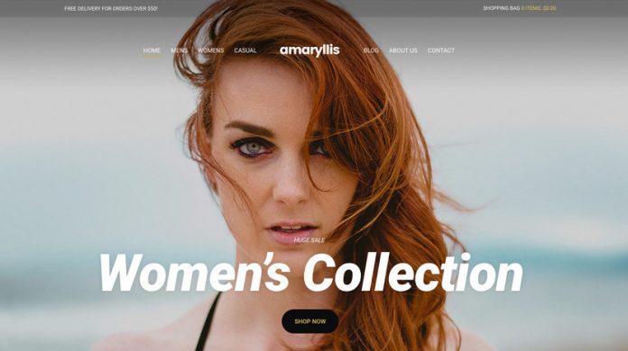 Amaryllis WordPress Theme Free Download