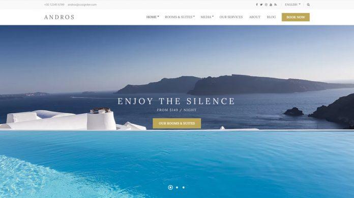 Andros WordPress Theme Free Download