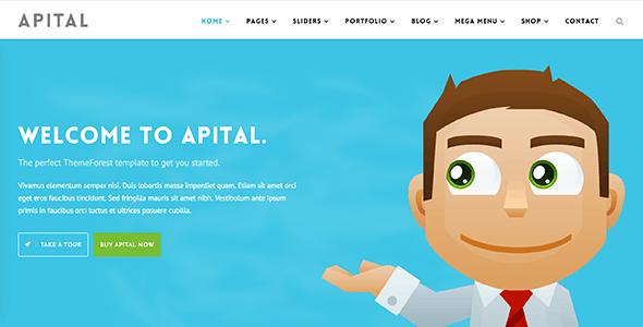 Apital - Corporate Business WordPress Theme