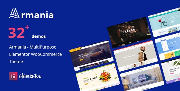 Armania - Multifunctional Elementor WooCommerce Theme