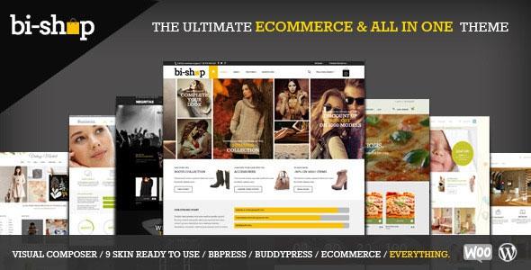 Bi-Shop Ecommerce & Corporate theme