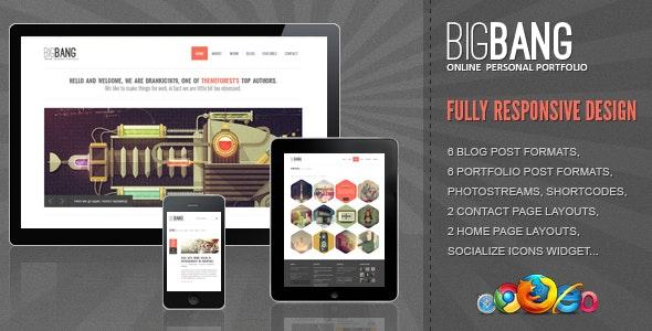 Bigbang - Responsive WordPress Theme