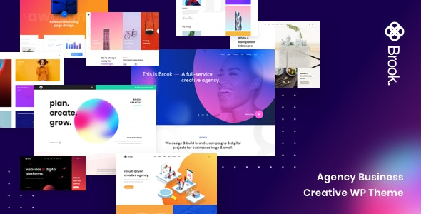 Brook - Creative Business WordPress Theme