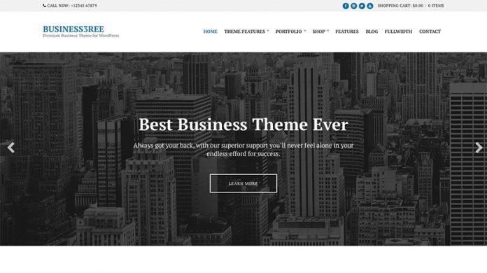 Business3ree Version: 2.5.5 WordPress Theme Free Download