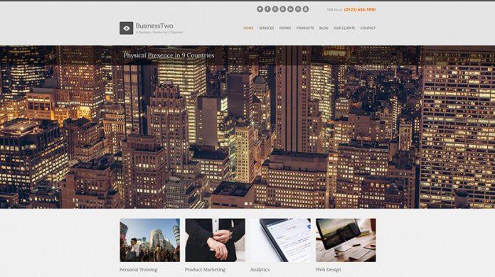 BusinessTwo Version: 1.7.0 WordPress Theme Free Download