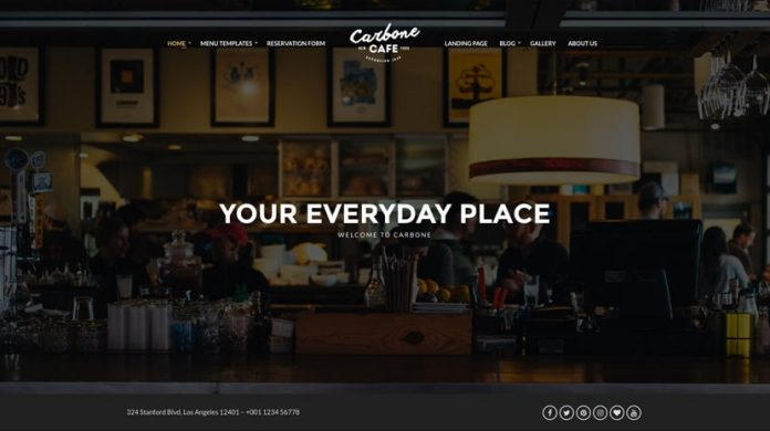 Carbone Version: 2.0.2 WordPress Theme Free Download