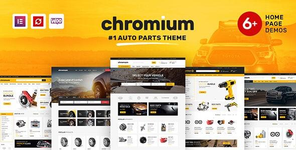 Chromium Auto Parts Shop WordPress