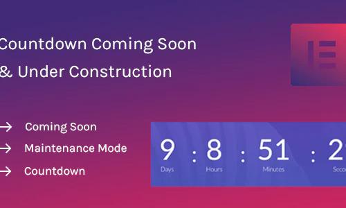 Coming Soon Widget for Elementor