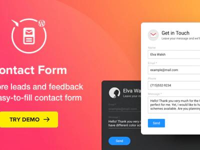 Contact Form – WordPress Contact Form Plugin