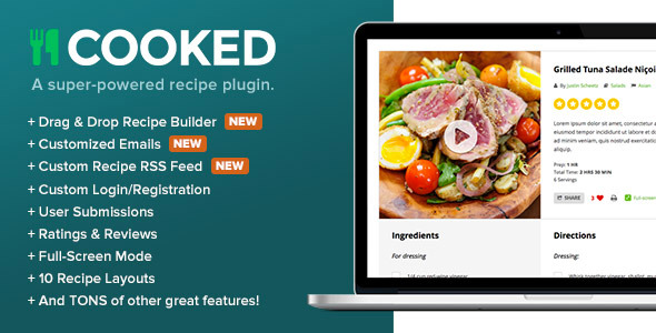 Cooked Classic - A Powerful Recipe Plugin for WordPress | Miscellaneous