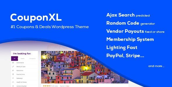CouponXL WordPress Theme Free Download