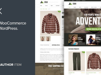 Crux - A modern and lightweight WooCommerce theme Free Download