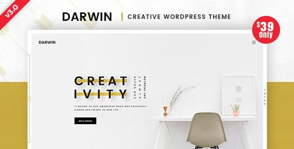 DARWIN – CREATIVE WORDPRESS THEME