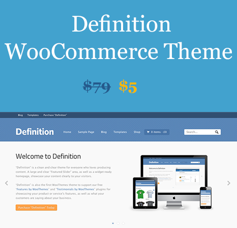 WOOTHEMES DEFINITION WOOCOMMERCE THEMES