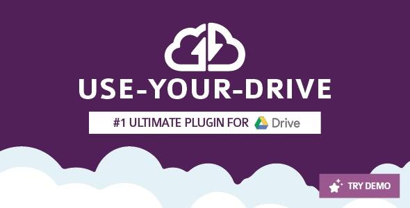 USE YOUR DRIVE GOOGLE DRIVE PLUGIN
