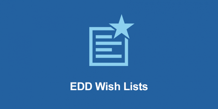 EASY DIGITAL DOWNLOADS WISH LISTS ADDON 1.1.7