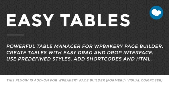 EASY TABLES – TABLE MANAGER FOR VISUAL COMPOSER 2.0.1
