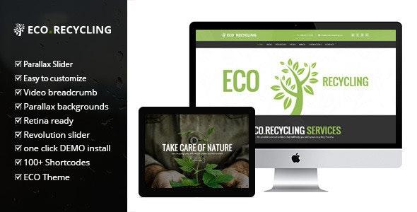 ECO RECYCLING – A MULTIPURPOSE NATURE & ECOLOGY WORDPRESS THEME 2.1
