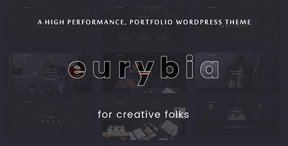 EURYBIA – CREATIVE PORTFOLIO WP THEME