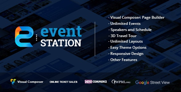 EVENT STATION – EVENT & CONFERENCE WORDPRESS THEME