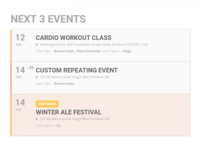 EVENTON EVENTS LISTS EXTENDED ADDON 0.15