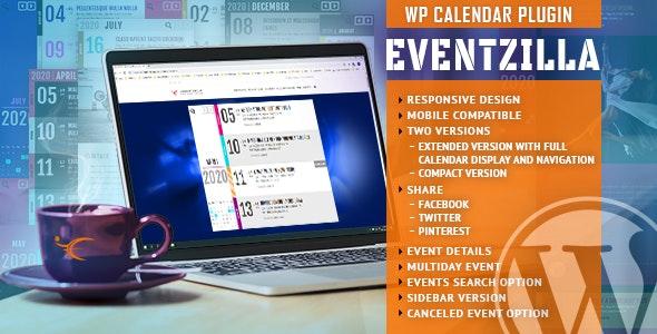 EVENTZILLA – EVENT CALENDAR WORDPRESS PLUGIN 1.2