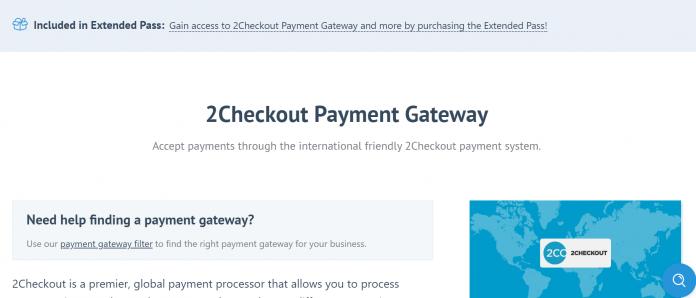 Easy Digital Downloads 2Checkout Gateway Addon 1.3.12