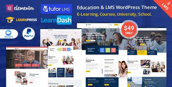 Edubin Education WordPress Theme