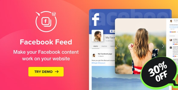 FACEBOOK FEED – WORDPRESS FACEBOOK PLUGIN 1.12.0