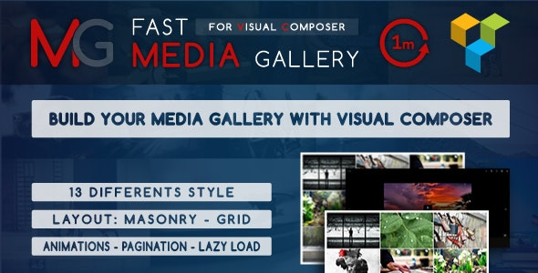 FAST MEDIA GALLERY FOR VISUAL COMPOSER 1.0