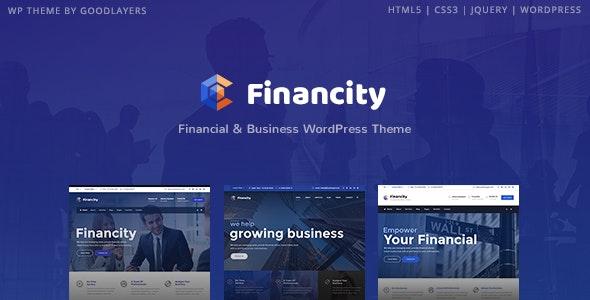 Financity Business WordPress Template