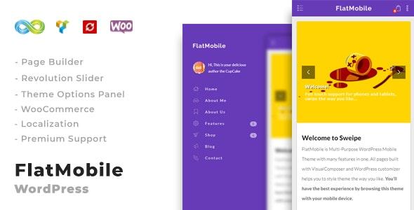 FlatMobile Responsive WordPress Mobile Theme